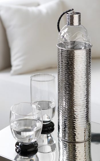 Wasserkaraffe silber